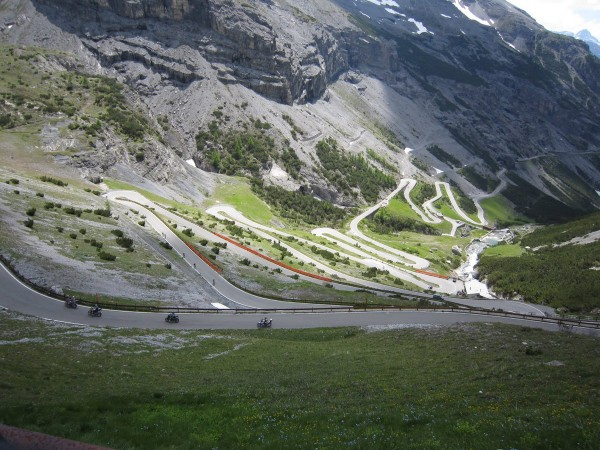 Passo Gavia and Mortirolo by motor bike