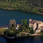 Lago di Garda e Castel Toblino in moto