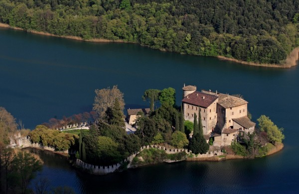 Lake Garda and Castel Toblino by motor bike