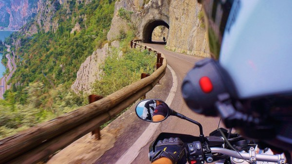 Val Sarentino and the Monte Giovo Pass, Trentino by Motor bike